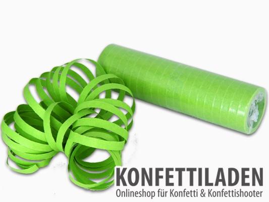 Luftschlangen - Hellgrün