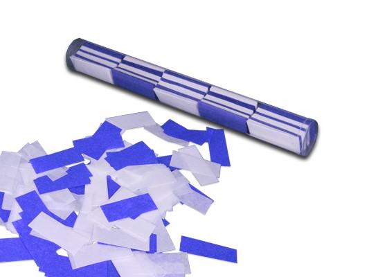 Konfetti Stick - Blau / Weiß