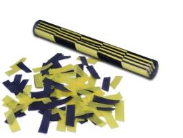 XXL Konfetti Stick - Gelb / Schwarz
