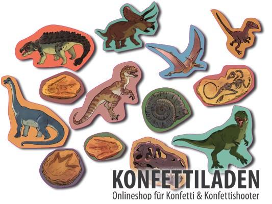 XXL Konfetti - Dinosaurier