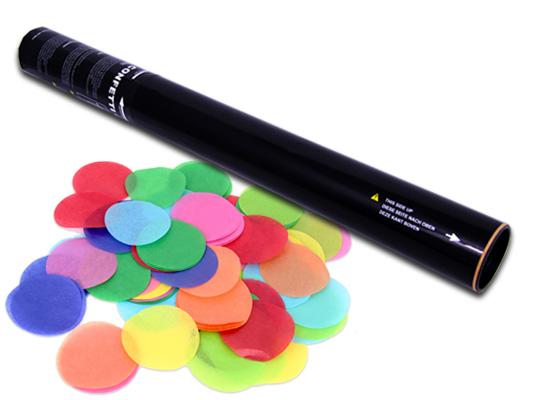 50 cm Konfettishooter - Multicolour Rounds