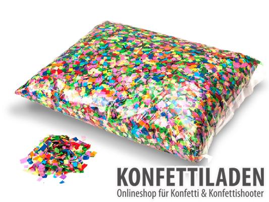 Powderfetti Konfetti - 6x6mm - Multicolor