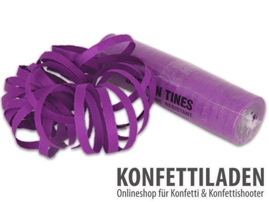 Luftschlangen - Violett