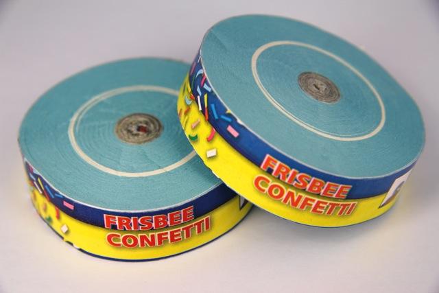 Konfetti Frisbee - Hellblau