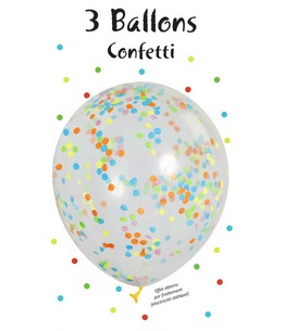 Konfetti Luftballons