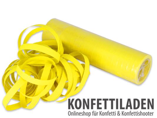 Luftschlangen - Gelb