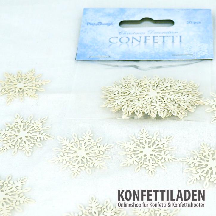 Streukonfetti - Snowflakes