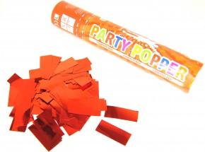 Party Popper - Rot metallic Konfetti