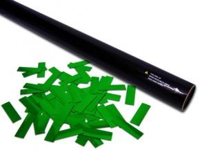 80cm Konfetti Shooter - Metallic Konfetti - Grün