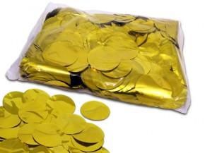 55mm Konfetti Kreise - Gold Metallic