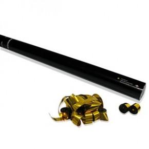 80cm Konfetti Shooter - Streamer - Gold