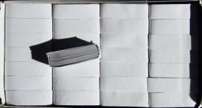 Konfetti Box - Weiss / Silber Mix - 500gr