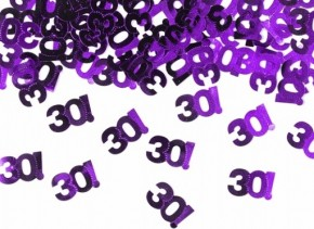 Streukonfetti 30! - Purple