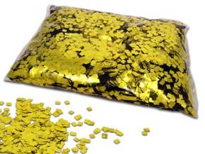 Gold Metallic Raindrops