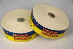 Konfetti Frisbee - Weiss