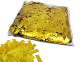 Laser Hologramm Konfetti - Gold