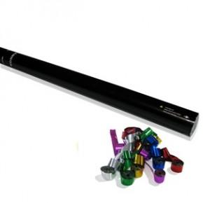 80cm Konfetti Shooter - Streamer - Multicolor Metallic