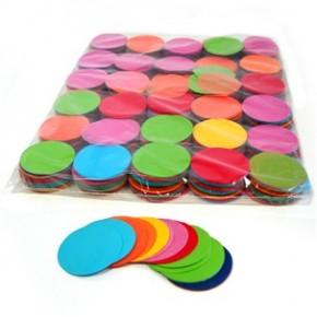 55mm SFP Konfetti Kreise - Multicolor