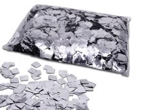Silber Metallic Squares