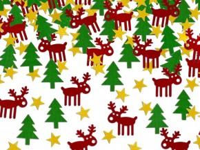 Streukonfetti - Funny Rudolph - Weihnachtsdeko