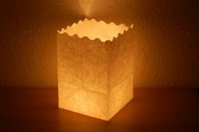 Candle Bag | Ohne Motiv mit Wellenlinie